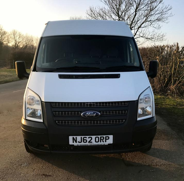 Swiss Vans Large Uk Ford: 2012 FORD TRANSIT VAN 125PS 2.2 TDCI DUDLEY, Dudley