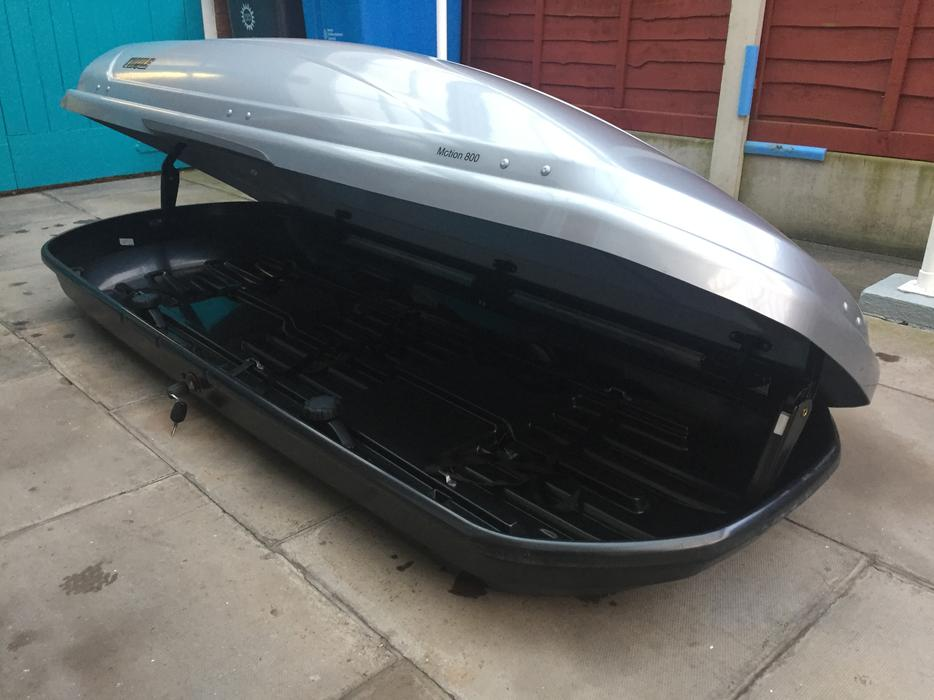 Thule Motion 800 Xl Car Roof Box Silver Wolverhampton Dudley