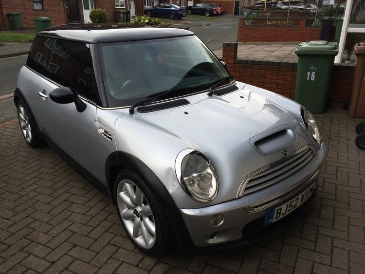 2002 mini cooper s supercharged no mot look willenhall dudley. Black Bedroom Furniture Sets. Home Design Ideas