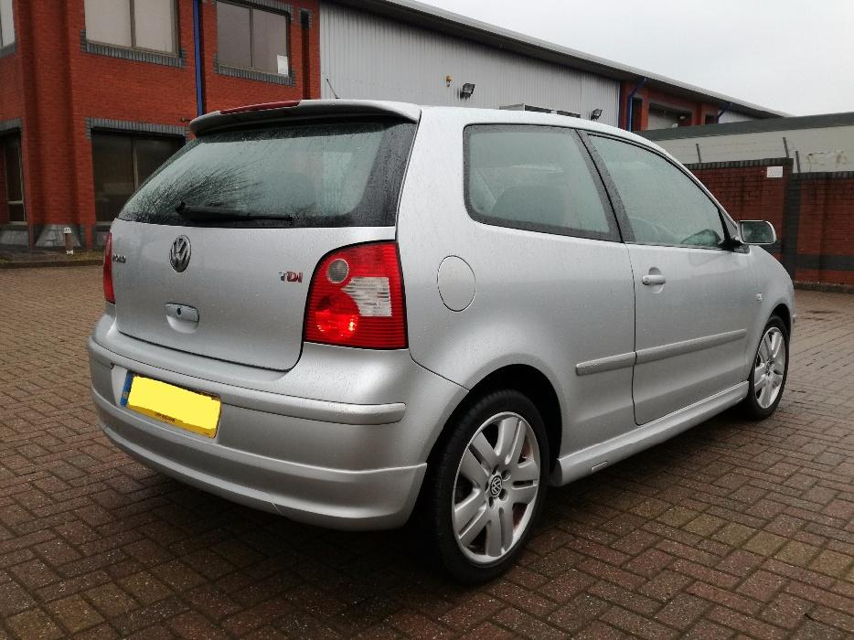 2004 vw polo 1 9 tdi sport 1 owner factory kit immaculate golf audi corsa wednesbury. Black Bedroom Furniture Sets. Home Design Ideas