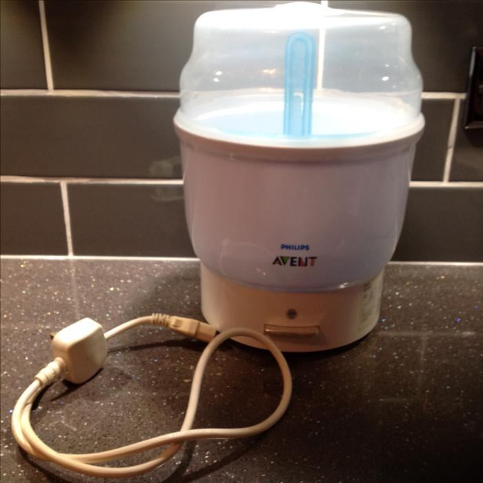 how to clean avent bottle sterilizer