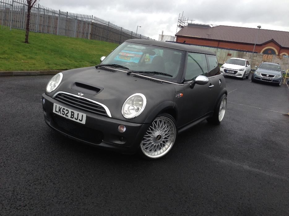 mini cooper sport supercharged lowered on coilovers genuine bbs very rare walsall walsall mobile. Black Bedroom Furniture Sets. Home Design Ideas