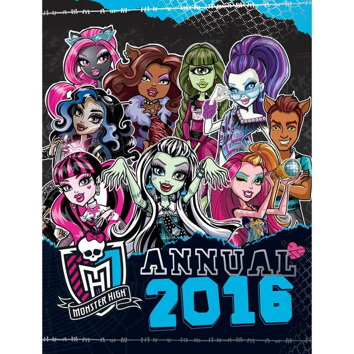 42 boxes of monster high 2016 annual sandwell wolverhampton. Black Bedroom Furniture Sets. Home Design Ideas