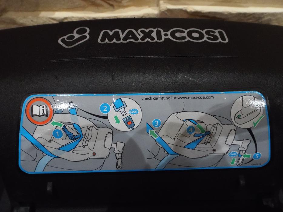 maxi cosi easybase 1 instructions