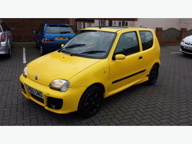 fiat seicento 1 1 sporting outside black country region. Black Bedroom Furniture Sets. Home Design Ideas