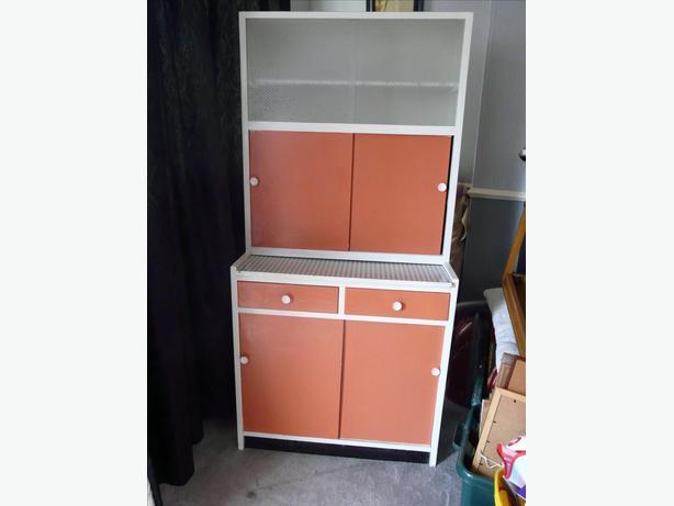 1940s 50s retro kitchenette larder cabinet willenhall for Kitchenette cupboard