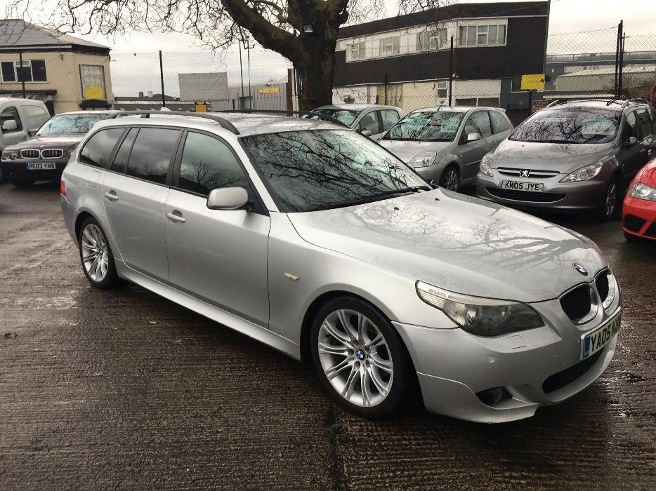 bmw 525d m sport touring 2005 manual outside black country. Black Bedroom Furniture Sets. Home Design Ideas