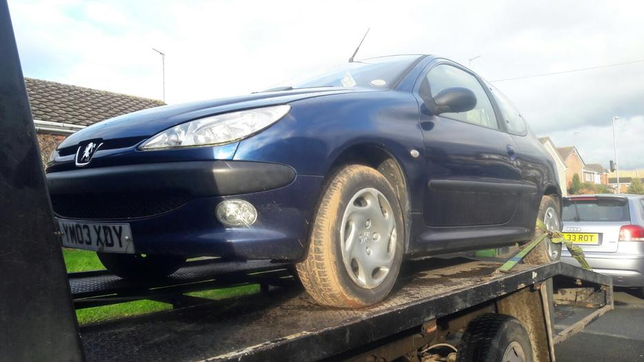 Peugeot 206 1 1 2003 Spares Or Repairs Other Sandwell
