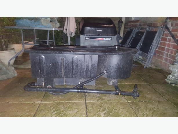 Pond filter coseley dudley mobile for Used fish pond filters