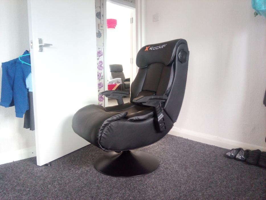 Elite Pro Gaming Chair X Rocker Tipton Sandwell