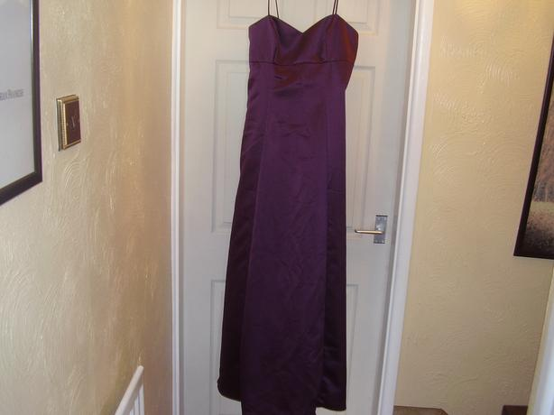 ladies size 8 ,purple.. prom etc dress