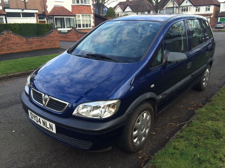 vauxhall zafira 7 seater 2004 other dudley. Black Bedroom Furniture Sets. Home Design Ideas