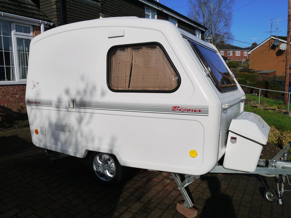 Freedom Bijoux Microlite Caravan 3 Berth Only 580kg