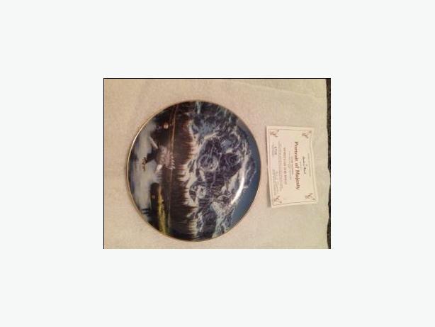 Danbury Mint plate - Portrait of Majesty by John Van Straalen.
