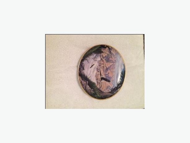 Danbury Mint plate - Guardian of the Canyon by John Van Straalen.
