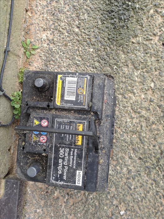 Halfords Car Battery Rover S
