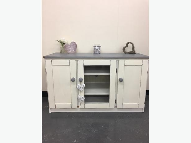 shabby chic tv unit walsall dudley. Black Bedroom Furniture Sets. Home Design Ideas