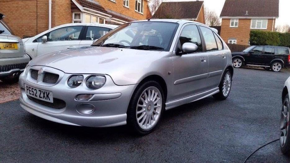 mg zr 1 4 silver low mileage dudley walsall mobile. Black Bedroom Furniture Sets. Home Design Ideas