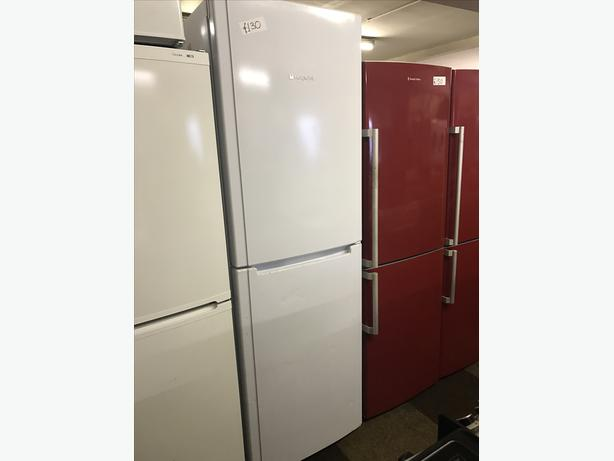 very tall hotpoint fridge freezer with guarantee. Black Bedroom Furniture Sets. Home Design Ideas