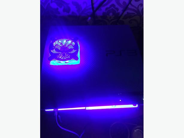  Log In needed £130 · JAILBROKEN PS3 - CFW - WITH BLUE LED LIGHTS - FAN  MOD - MODS