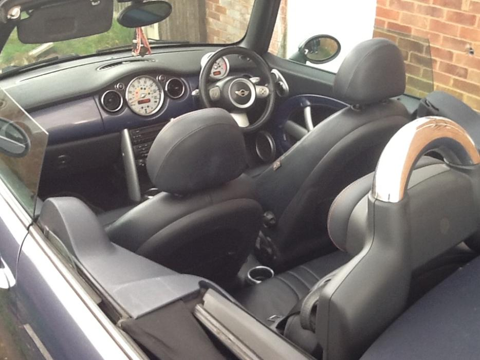 Bmw Mini Cooper 1 6 Convertible Full Leather Interior Wolverhampton Dudley