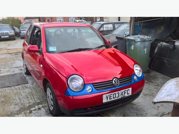 vw lupo 2003 sdi diesel red 2003 sdi 3 door walsall wolverhampton mobile. Black Bedroom Furniture Sets. Home Design Ideas