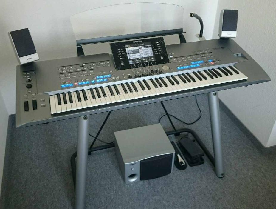 Keyboard workstation yamaha tyros 5 with 76 keys for Yamaha tyros 5