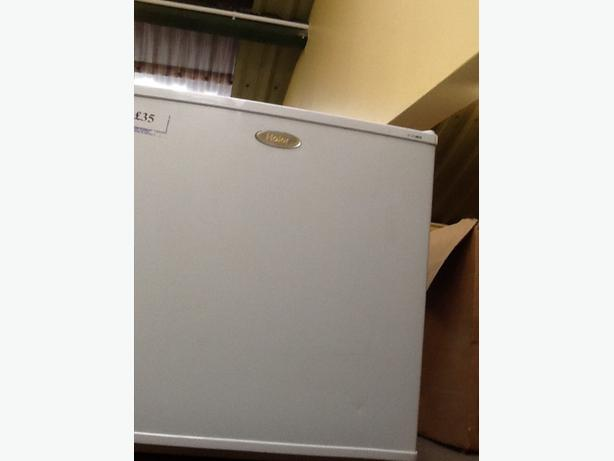 Haier white mini table top freezer wolverhampton dudley for Table top freezer