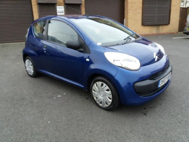 citroen c1 1.0L 2007 taxed and moted