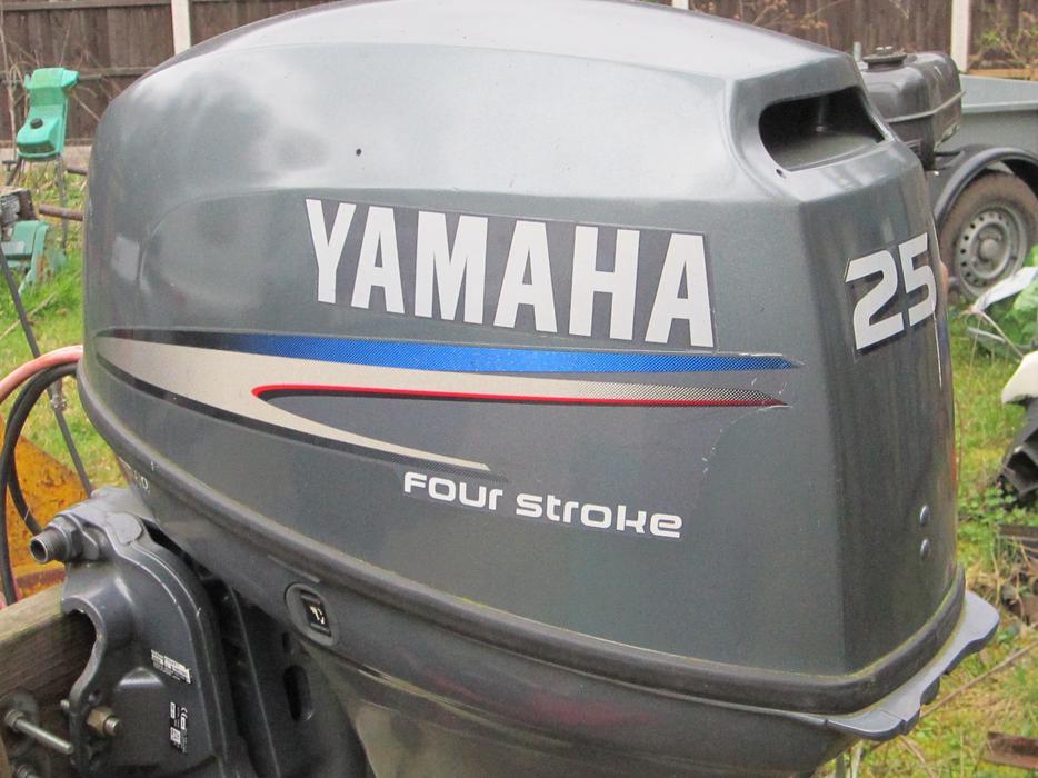 Yamaha 25hp 4 stroke wolverhampton wolverhampton for Best prop for 25 hp yamaha 2 stroke