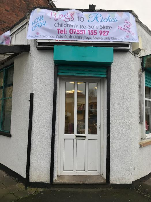 Rags to riches childrens re sale store wolverhampton wolverhampton - Ford garage wolverhampton ...
