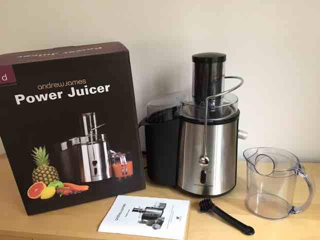Andrew James Slow Masticating Juicer : Andrew James Power Juicer - rare powerful 990 Watt - boxed with all accessories Brierley Hill ...