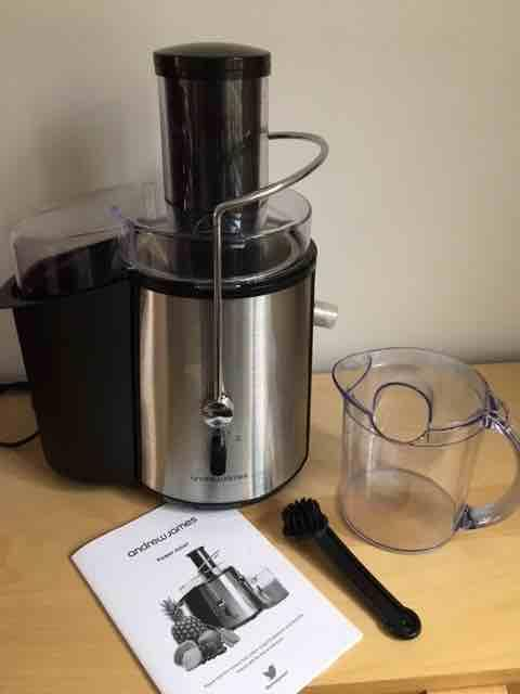 Andrew James Power Juicer - rare powerful 990 Watt - boxed with all accessories Brierley Hill ...
