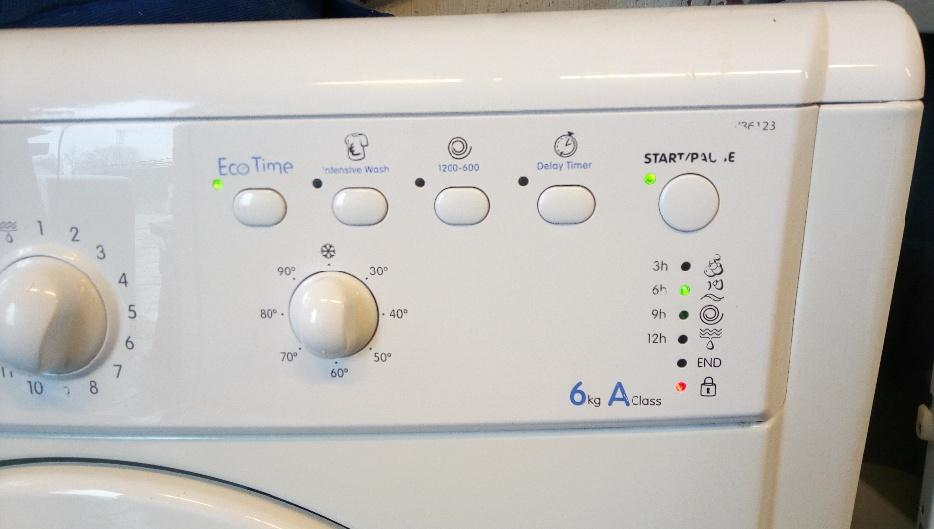 Classified Ad For Sale Car Wash Equipment: Indesit IWB6123 Automatic Washing Machine For Sale