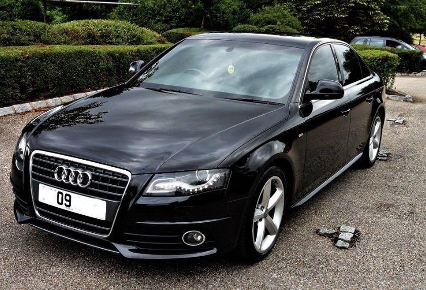 audi a4 s line 2 0 tdi 170ps saloon 2009 black walsall. Black Bedroom Furniture Sets. Home Design Ideas