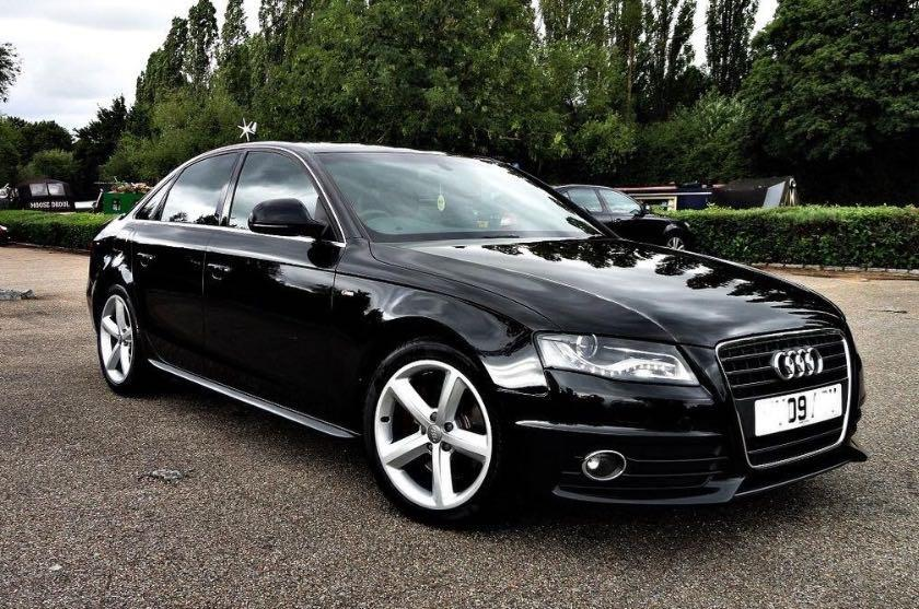 audi a4 s line 2 0 tdi 170ps saloon 2009 black walsall dudley. Black Bedroom Furniture Sets. Home Design Ideas