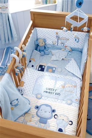 Cheeky Monkey Baby Bedding