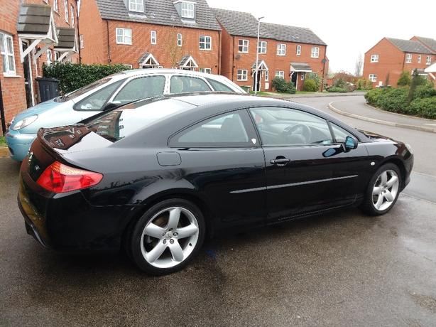 peugeot 407 coupe gt bilston dudley mobile. Black Bedroom Furniture Sets. Home Design Ideas