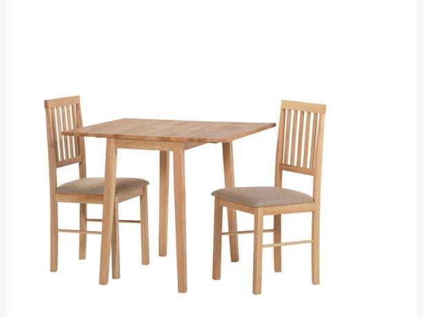 Home kendall drop leaf ext dining table 2 chairs for Best dining table brands