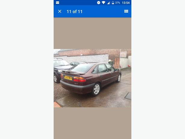 spares or repairs renault laguna sport mk1 phase 2 1 8 16v wolverhampton dudley. Black Bedroom Furniture Sets. Home Design Ideas