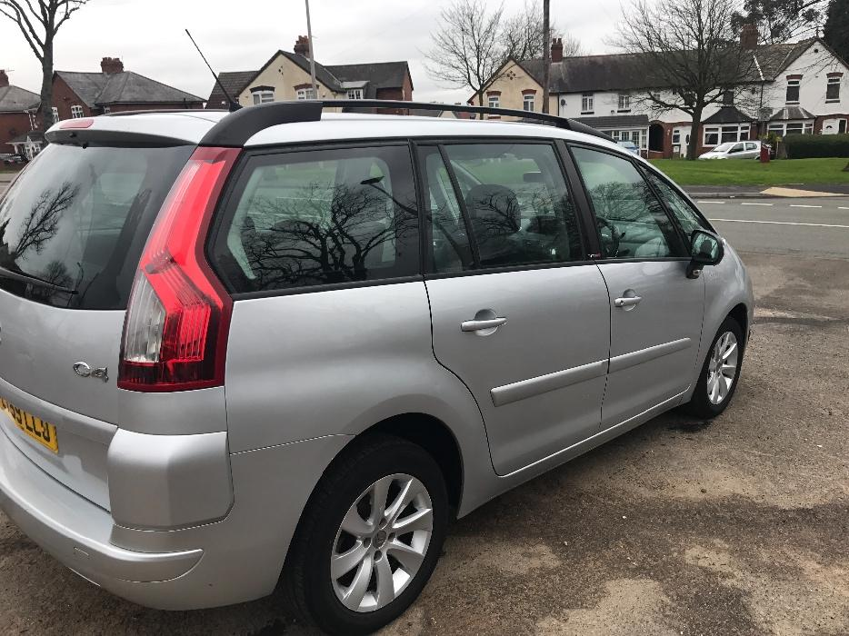 citroen c4 grand picasso 1 6 vtr hdi diesel 50k auto long mot zafia galaxy sandwell dudley. Black Bedroom Furniture Sets. Home Design Ideas