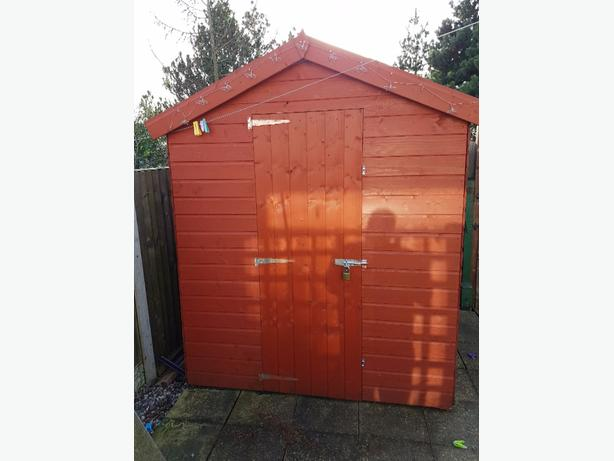 6x6 garden shed dudley walsall for Garden shed 6x6