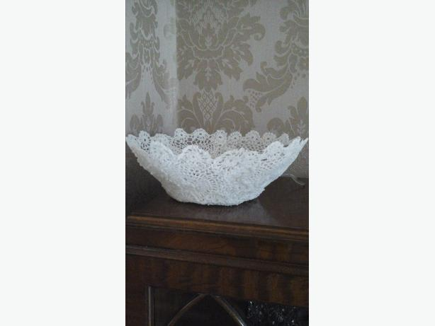HOMEMADE COTTON LACE BOWLS