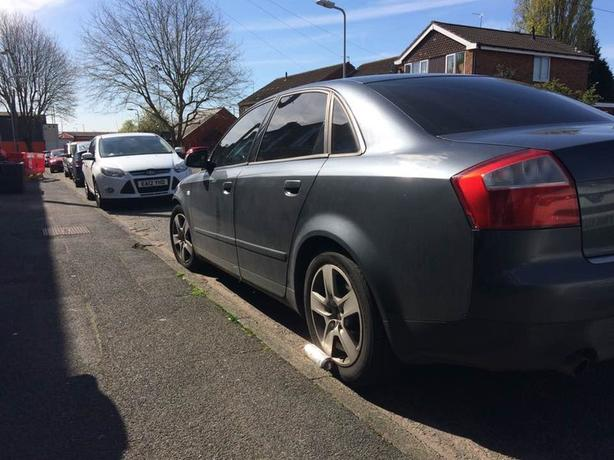 AUDI A4 2003 1.8T automatic swaps automatic only