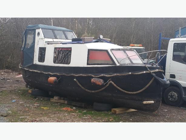 1938 converted life boat