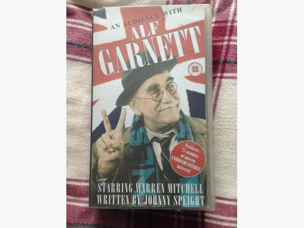 Not Avaliable on DVD. Alf Garnett, Japer Carrott and David Baddiel