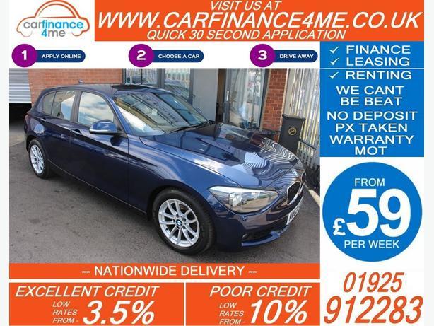 2013 BMW 116D 1.6 EFFICIENT DYNAMICS DIESEL HATCHBACK 28K