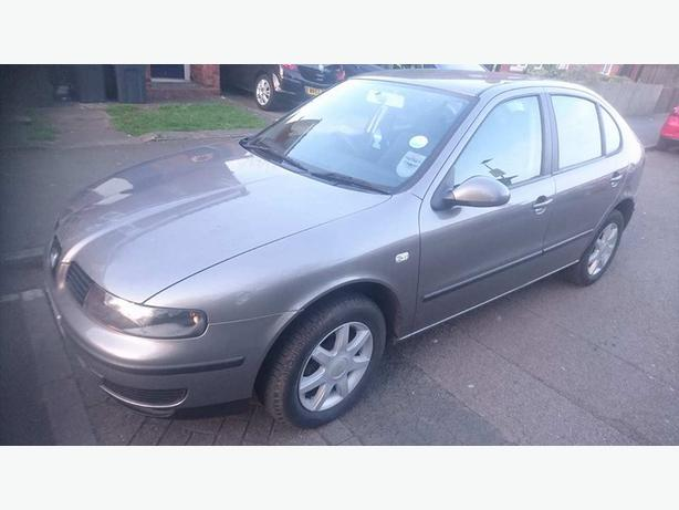 2003 SEAT LEON 1.4ltr PETROL, 5dr, MANUAL WITH 12mths MOT.