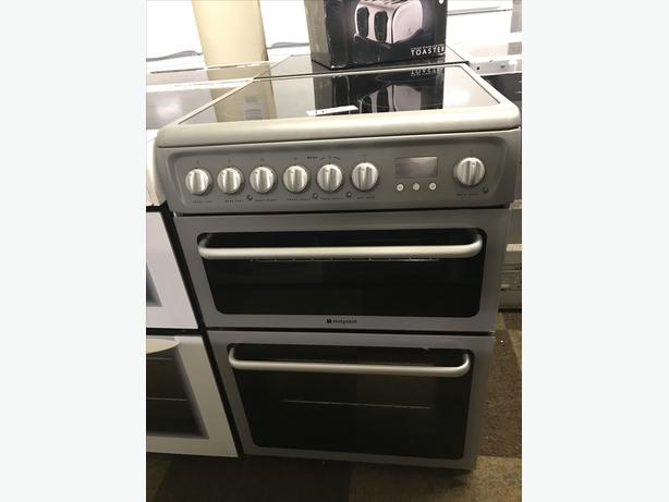 HOTPOINT ELECTRIC COOKER WITH GUARANTEE 60CM WIDE