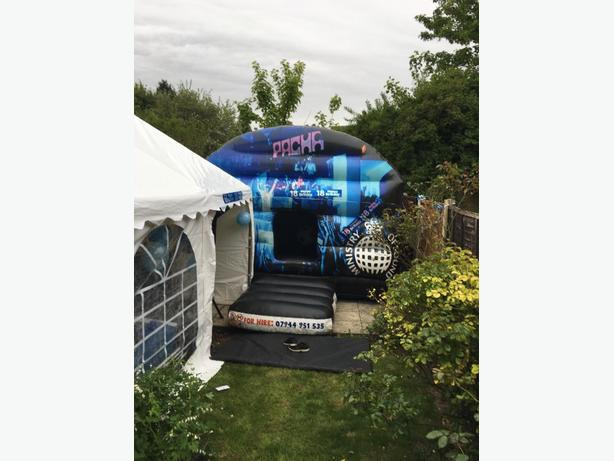 Marquee hire and disco hire